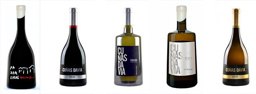 características de los vinos de Cuñas Davia