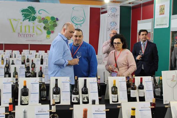 túnel do viño da anterior edición de Vinisterrae