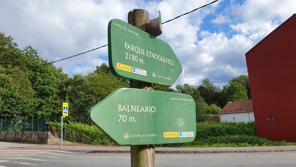 direcciones para llegar al museo parque etnográfico del arenteiro en carballiño, en la comarca del Ribeiro