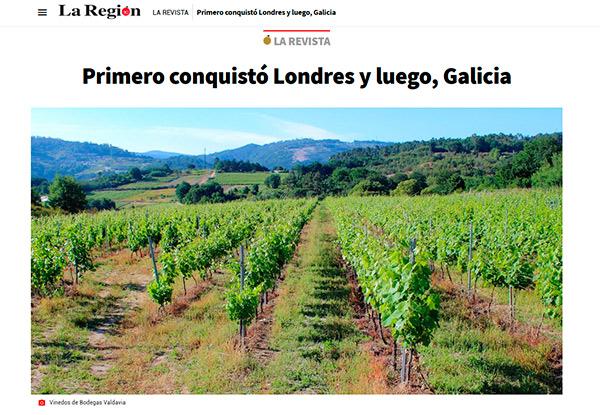 acceso a artículo de La Región sobre La Flor de Margot