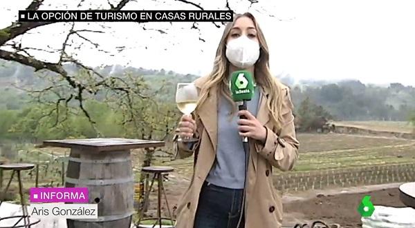 Enoturismo en Cuñas Davia en La Sexta Noticias