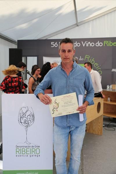 Alberto Úbeda, Colleiteiro en Cuñas Davia