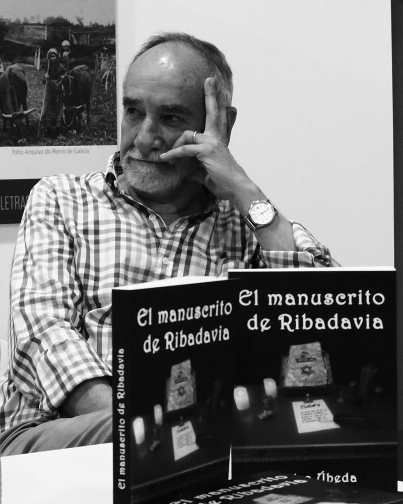 Pedro Úbeda, autor del manuscrito de Ribadavia