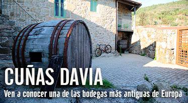 Visita a Bodegas Cuñas Davia
